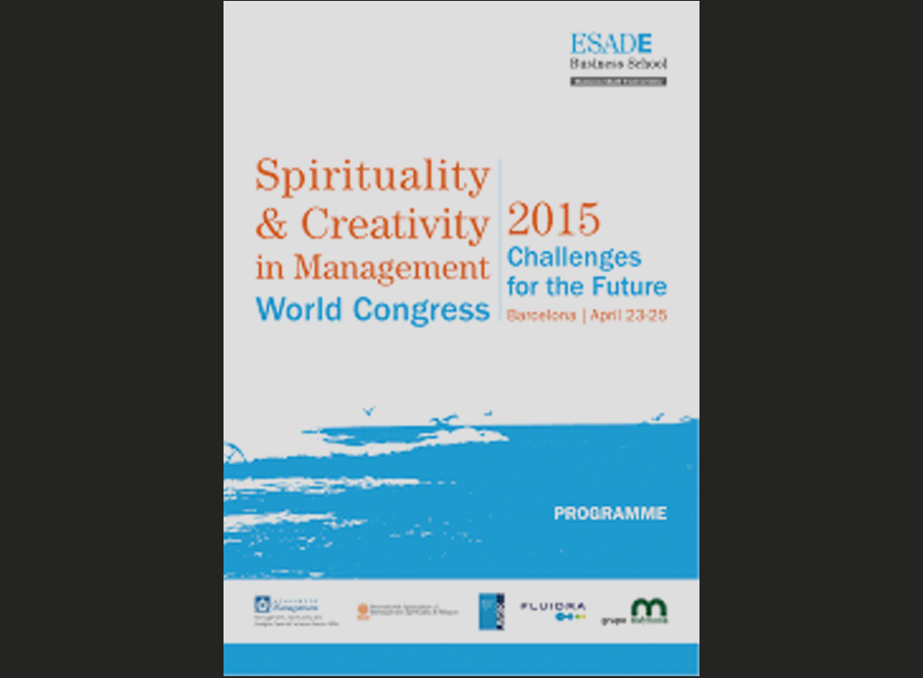 "Konferensartikel: ""Being awake at work: An explorative study of how managers integrate insights from spiritual development into their working lives"" (Spirituality and Creativity in Management World Conference)"
