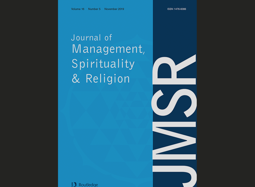 "Artikel: ""When work becomes meditation"" (Journal of Management, Spirituality and Religion)"